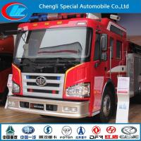 China Faw 6*4 15 Cbm 360HP Fire Fighting Equipment on sale