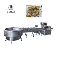 China Dove wrap Candy Packaging Machine / Horizontal Wrapping Machine 2.4KW on sale
