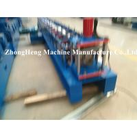 Best 0.4 - 0.6mm thickness Half Round Gutter Forming Machine for Metal Downspout PLC control wholesale