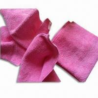 Best Microfiber Face Towels, Nice Water Absorbent and Anti-static, Various Colors are Available wholesale