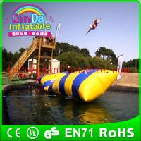Best water toys game aqua blob jump inflatable water jumping blob wholesale