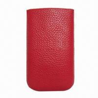 Best Leather Mobile Phone Pouch, Compatible with iPhone, Made of Leather and PU wholesale