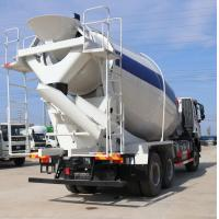 China HOWO Concrete Mixing Truck Equipment High Speed 8m3/9m3/ 336hp Mix Truck on sale