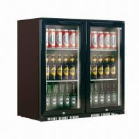 China Back Bar Display Fridge, Double Hinged and Sliding Door for Option on sale