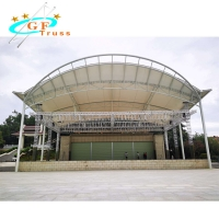 Best 390mmx390mm Aluminum Roof Truss System With Stage Platform wholesale