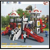 China Outdoor playground equipment,Kids plastic playground , kids toys on sale