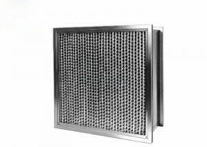 Best Customized Size Rigid Hepa Air Filter 99.99% High Efficiency For Rated Industrial wholesale