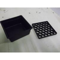 China Custom Plastic Injection Molding Service , Plastic Molded Parts Drip Tray Box on sale