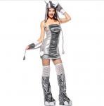 Best Halloween Elephants uniforms  Costume  ,Witch's zombie suit., Motorcycle suit Wild Cat Girl  halloween costumes wholesale