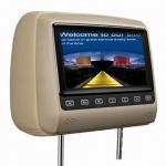 Best 7-inch Headrest Car DVD Player with Game, IR, FM, SD Card, USB, DivX, Multimedia System wholesale