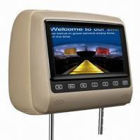 Best 7-inch Headrest Car DVD Player with Game, IR, FM, SD Card, USB, DivX, Multimedia System wholesale