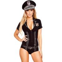 Best Officer Bling Cop Costume Adult Costumes for Carnival Christmas Halloween wholesale