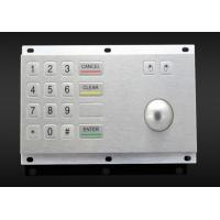 China Kiosk vending machine keypad with stainless steel trackball, with short key stroke on sale