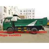 Best dongfeng 6 wheel dump truck with tarp cover Specifications of dongfeng 6 wheel dump truck/ tipper truck with tarp cover wholesale