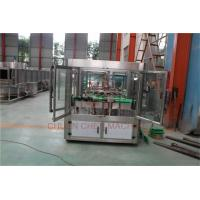 China Drink CSD Water Filling Capping And Labeling Package Machine Semi Automatic on sale