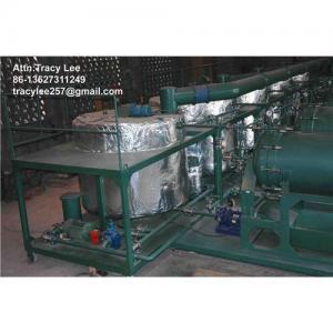 Best Used black waste oil recycle regeneration plant wholesale