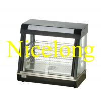 China ELW-660B electric curved glass food warming showcase on sale