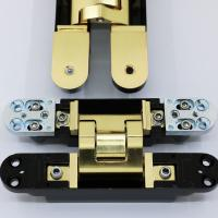 Best Satin Brass Invisible Hinges wholesale