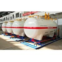 China 10CBM / 10000 Liters Gas LPG Tank With Dispenser Equipments And Scales on sale