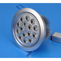 Best High Power 15W Recessed LED Downlights Lamp Power Factor >0.9 Lifespan 50,000 hours wholesale