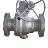 Best Soft Seal Gear Flanged Operated Ball Valve 2 Inch CF8M Material JIS10K wholesale