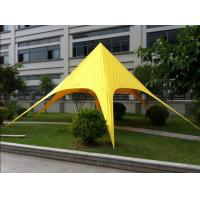 Best Professional Easy Up Star Tent / High Top tent for exhibition , Yellow wholesale
