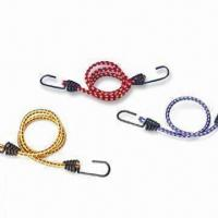 Best Assorted Rubber Bungee Cord with Plated Snap Hook, Available in Various Sizes wholesale