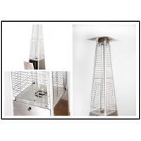 Best Tall Quartz Glass Tube Patio Heater , Powder Coated / Stainless Steel Gas Patio Heater wholesale