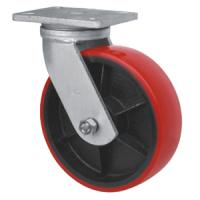 Best iron cast pu caster,Pu on iron caster,heavy duty caster wholesale