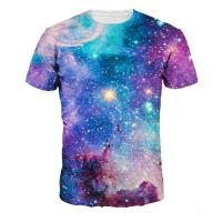 China Cotton Dry Fit 3d Colorful Sublimation Printing T Shirts Artistic Style on sale