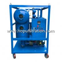 China Insulation Oil Recycling System, Switchgear Oil Purifier, Transformer Oil Regeneration Plant, Cable Oil Degassing Unit on sale