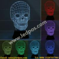 China 3D Visual Acrylic LED Light on sale
