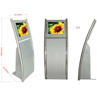 Best 49 Inch IR Touch Screen Hotel Self Check In Kiosk 1920*1080 With Thermal Printer wholesale