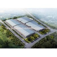Two Story Prefabricated Steel Warehouse Steel Modular Buildings Easy Install