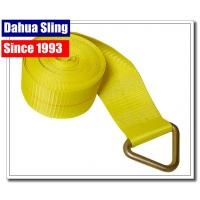 """Best 5670 Lb Winch Extension Strap With Delta Ring Assembly 4"""" X 27"""" OEM Avaliable wholesale"""