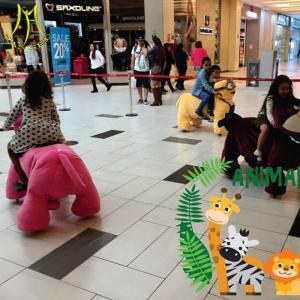 Best Hansel entertainment game machine animal toy ride on stuffed bikes wholesale