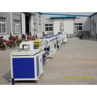 High Efficiency Plastic Pipe Extrusion Line / Full Automatic PE Pipe Making Machinery