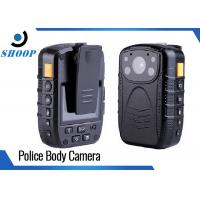 Best Password Protection 16GB Wearable Police Body Cameras Wide Angle 140 Degree wholesale