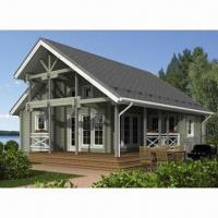 China Prefab Wooden House/Log Cabin with 50-yera Lifespan on sale