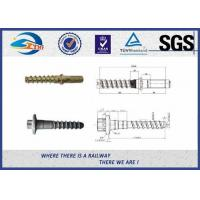 Buy cheap Railway Fastening System Railway Pin Screw Spikes For America Railway product