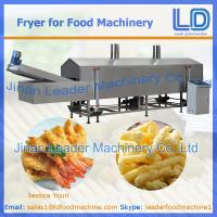 Best China Automatic Fryer machine for snacks wholesale
