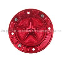 Best Gsxr 750 Motorcycle Gas Cap Gas Covers CNC Finished Integrated Rubber Seal wholesale