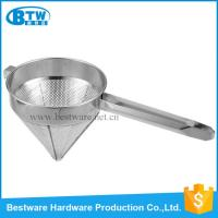 China Stainless Steel Funnel China Cap Strainer on sale