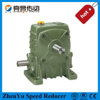 Best Cast Iron Worm Speed Reducer Gearbox 1400rpm , Electric Motor Speed Reducer wholesale