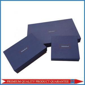 Luxury Apparel Garment Packaging Paper Gift Box Custom Logo Color Print