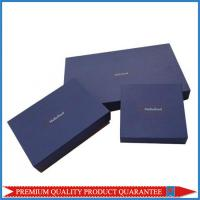 Cheap Luxury Apparel Garment Packaging Paper Gift Box Custom Logo Color Print for sale