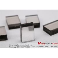 China CVD synthetic diamond plates,CVD Diamond,Optical Grade CVD Flake Shape on sale