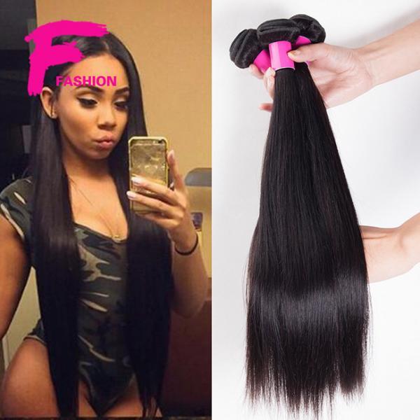 Cheap 6A quality Brazilian hair Brazilian virgin hair straight unprocessed human hair Brazilian for sale