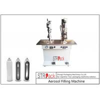 Best Electronic Control Aerosol Filling Machine , Bag On Valve Filling Machine wholesale