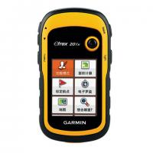 China Garmin Brand Etrex201X Measuring Handheld GPS Device Black / Yellow Color on sale